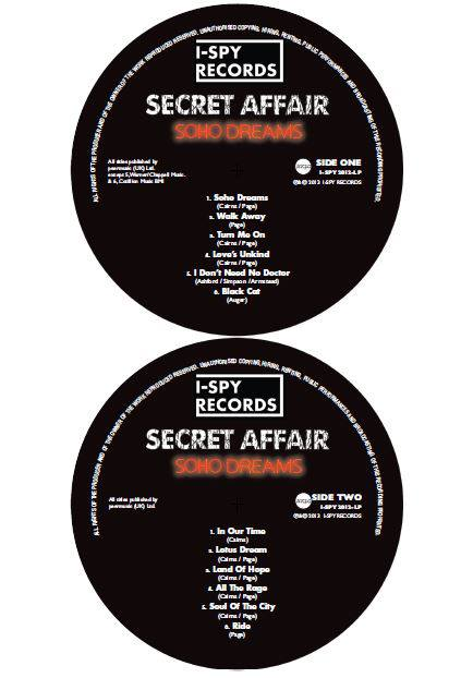 Secret Affair Soho Dreams Vinyl